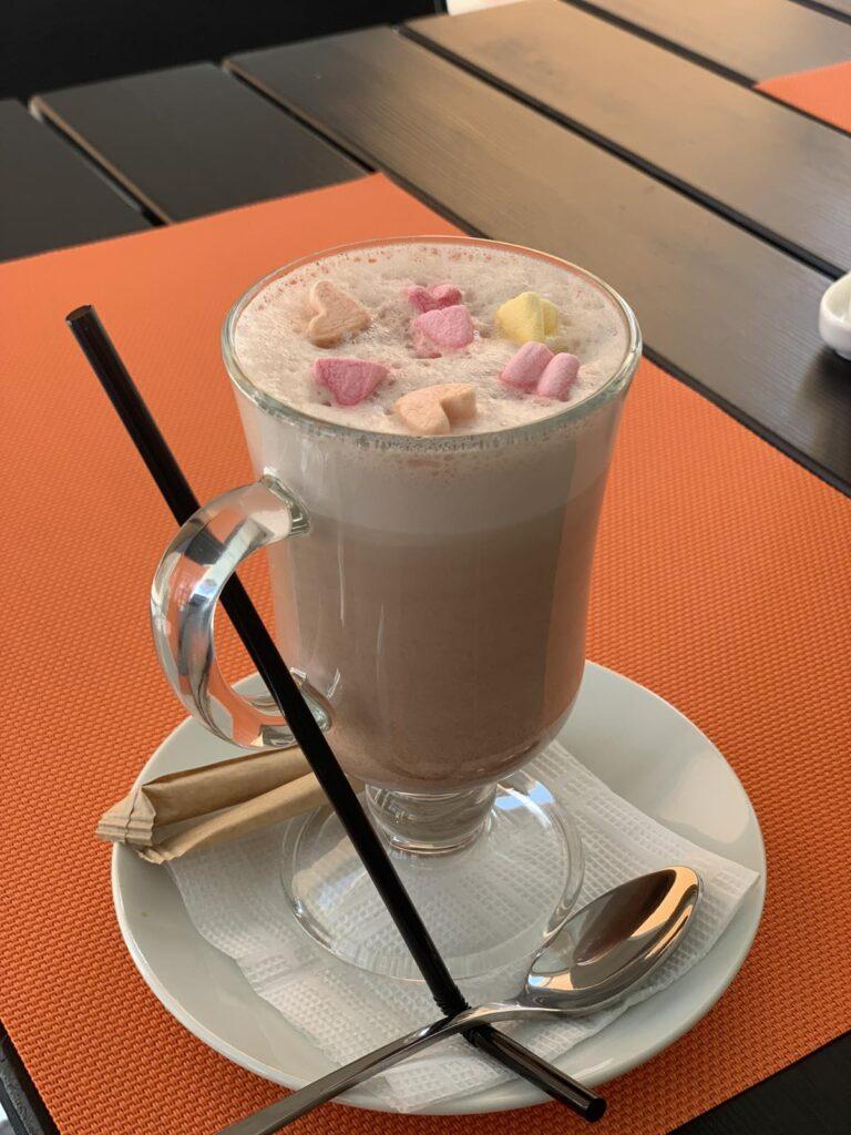 Какао с маршмелоу